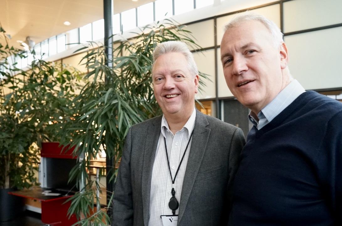 Arild Kristensen, NSCC og Lars Dahle, Dignio