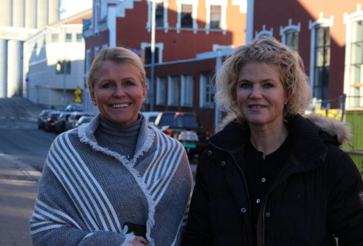 Aina Haug Og Elsa Søyland