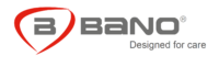 Bano Designed For Care Logo