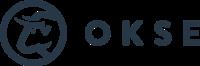 Okse Logo Horizontal Blaa
